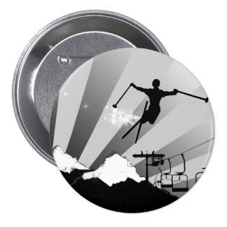 ski powder trail buttons