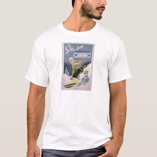Ski Quebec T-Shirt