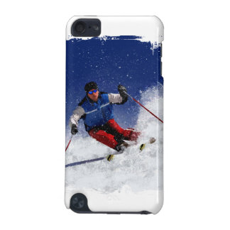 Ski Racing Down the Mountain iPod Touch (5th Generation) Cases