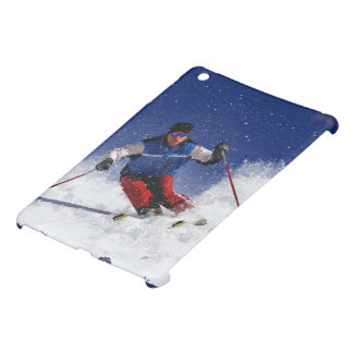 Ski Racing Down the Mountain iPad Mini Covers