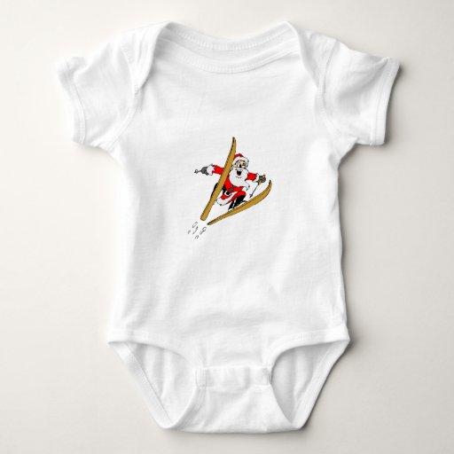 Ski Santa Tshirt