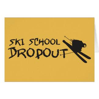 Ski School Dropout Card