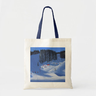 Ski school Morzine 2014 Tote Bag