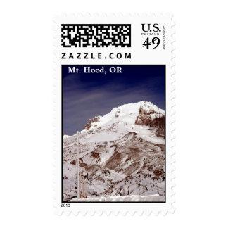 Ski Season Postage Stamp