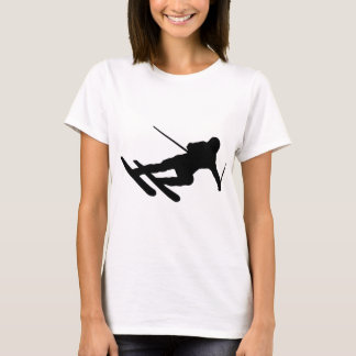 ski skiing downhill skier T-Shirt