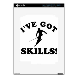 ski skills  Vector Designs iPad 3 Decals