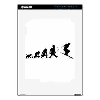 ski iPad 3 decal