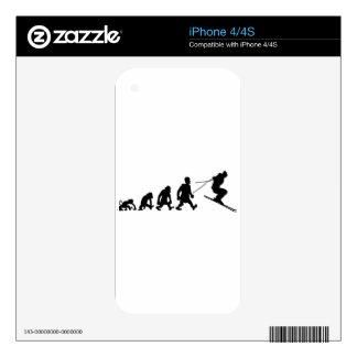 ski iPhone 4S decals