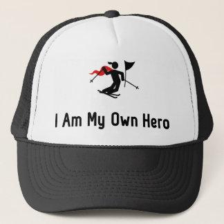 Ski Slalom Hero Trucker Hat