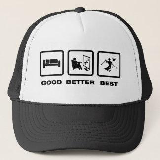 Ski Slalom Trucker Hat