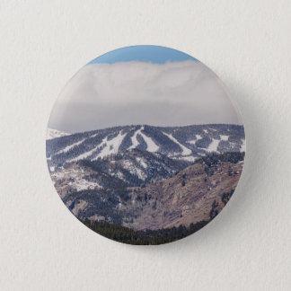 Ski Slope Dreaming Pinback Button