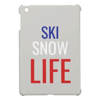 Ski, Snow, Life Cover For The iPad Mini