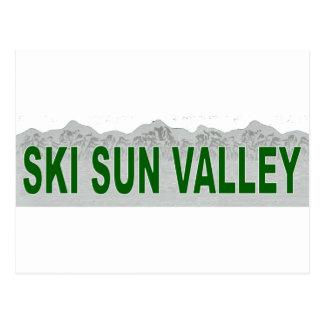 Ski Sun Valley Postcard