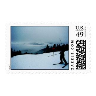 Ski Sunday River Postage