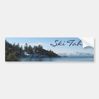 Ski Tahoe Car Bumper Sticker