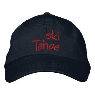 Ski Tahoe Embroidered Baseball Cap