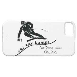 Ski The Bumps iPhone 5 Covers