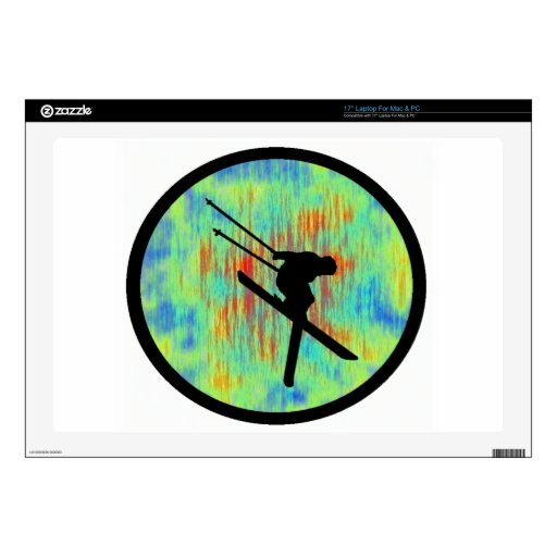 SKI THE EXEMPLIFIED DECALS FOR LAPTOPS