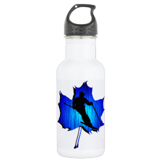 SKI THE HILL STAINLESS STEEL WATER BOTTLE
