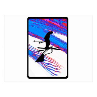 Ski The Sunters Postcard