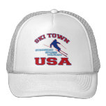 Ski Town USA, Steamboat Springs, Colorado Trucker Hat