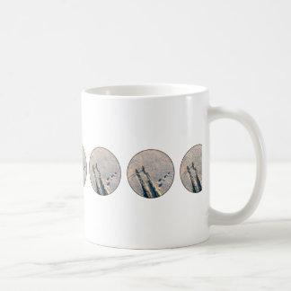 Ski track coffee mug