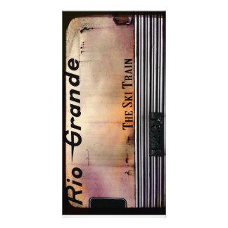 SKI TRAIN CARD
