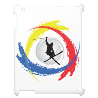 Ski Tricolor Emblem iPad Covers