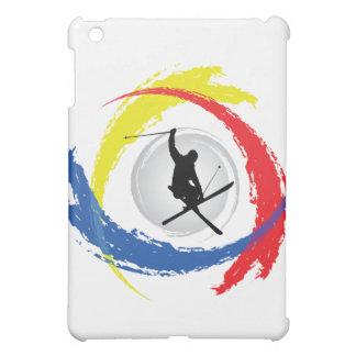 Ski Tricolor Emblem iPad Mini Cover