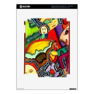 """""""Ski Trip"""" iPad 3 Skin by Ozberker"""