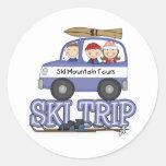 Ski Trip Sticker