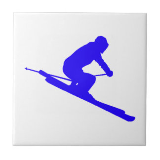 SKI TRUE BLUE TILE