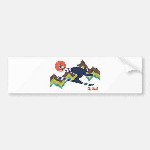 Ski Utah Bumper Stickers