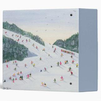 Ski-vening 1995 3 ring binder