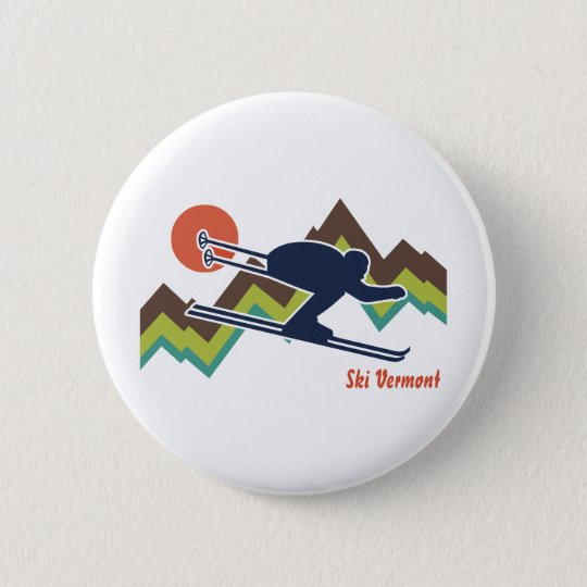 Ski Vermont Button