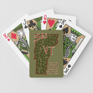 Ski Vermont Playing Cards