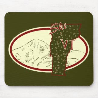 Ski VT Mouse Pad