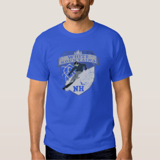Ski White Mountains, NH T-Shirt