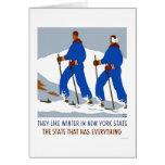 Ski Winter New York 1938 WPA Card