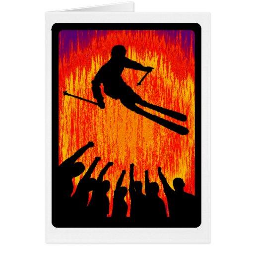 SKI YOUR PROGRESSION GREETING CARDS