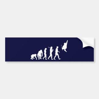 Skiboarding Evolution of skiboards trick ski Gift Bumper Sticker
