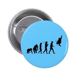 Skiboarding Evolution of skiboards trick ski Gift Pin