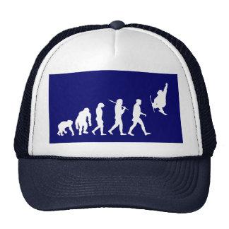 Skiboarding Evolution of skiboards trick ski Gift Trucker Hats