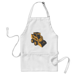 skid steer digger truck adult apron