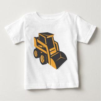 skid steer digger truck baby T-Shirt