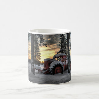 skidder sunrise coffee mug