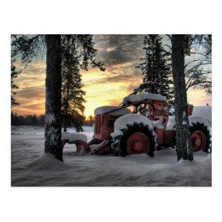 skidder sunrise postcard