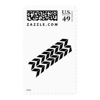 skidmark postage stamps