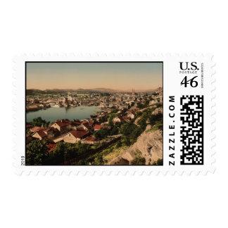 Skien Cityview Norway Stamps