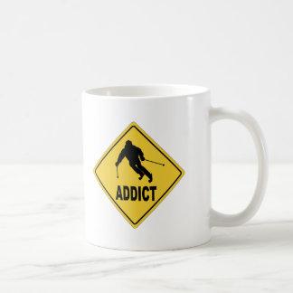Skier 1 coffee mug